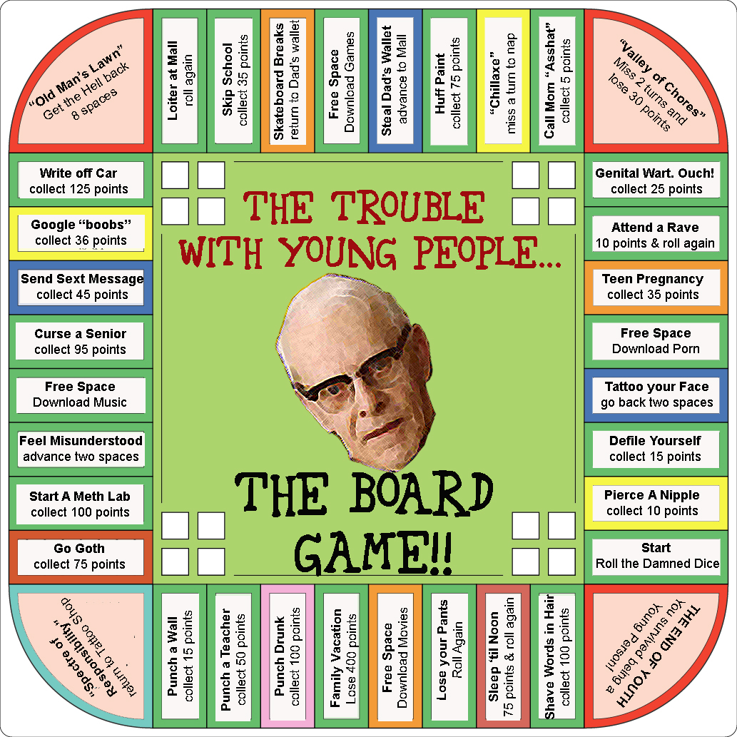 The Trouble With Young People (Board Game Edition) | The Problem ...