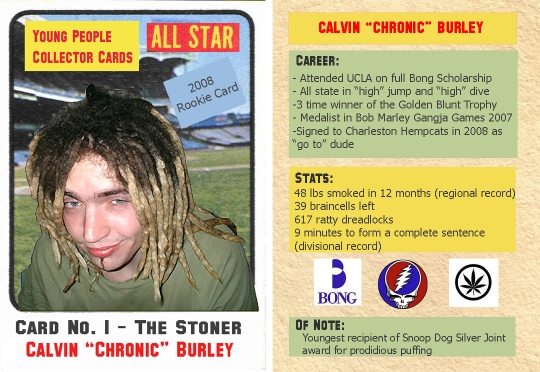 trading card final stoner