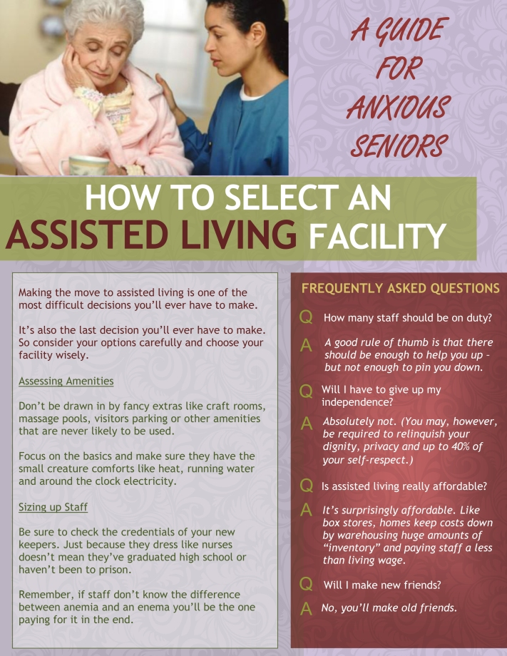 assisted living brochure page 1